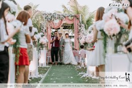 Malaysia Kuala Lumpur Wedding Decoration Kiong Art Wedding Deco Eternal Registration of Marriage Ceremony Open-air Party of Jack and Fish ROM at Kluang Container Hotel A14-A01-183