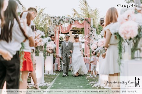Malaysia Kuala Lumpur Wedding Decoration Kiong Art Wedding Deco Eternal Registration of Marriage Ceremony Open-air Party of Jack and Fish ROM at Kluang Container Hotel A14-A01-186