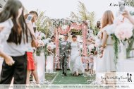 Malaysia Kuala Lumpur Wedding Decoration Kiong Art Wedding Deco Eternal Registration of Marriage Ceremony Open-air Party of Jack and Fish ROM at Kluang Container Hotel A14-A01-187