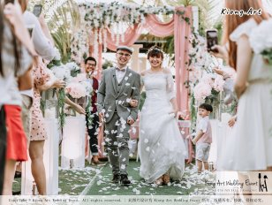 Malaysia Kuala Lumpur Wedding Decoration Kiong Art Wedding Deco Eternal Registration of Marriage Ceremony Open-air Party of Jack and Fish ROM at Kluang Container Hotel A14-A01-190
