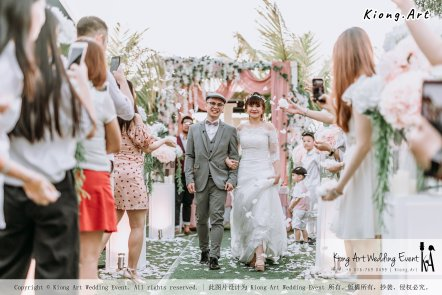Malaysia Kuala Lumpur Wedding Decoration Kiong Art Wedding Deco Eternal Registration of Marriage Ceremony Open-air Party of Jack and Fish ROM at Kluang Container Hotel A14-A01-192