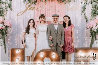 Malaysia Kuala Lumpur Wedding Decoration Kiong Art Wedding Deco Eternal Registration of Marriage Ceremony Open-air Party of Jack and Fish ROM at Kluang Container Hotel A14-A01-203