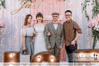 Malaysia Kuala Lumpur Wedding Decoration Kiong Art Wedding Deco Eternal Registration of Marriage Ceremony Open-air Party of Jack and Fish ROM at Kluang Container Hotel A14-A01-204