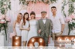 Malaysia Kuala Lumpur Wedding Decoration Kiong Art Wedding Deco Eternal Registration of Marriage Ceremony Open-air Party of Jack and Fish ROM at Kluang Container Hotel A14-A01-205