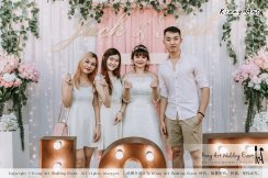 Malaysia Kuala Lumpur Wedding Decoration Kiong Art Wedding Deco Eternal Registration of Marriage Ceremony Open-air Party of Jack and Fish ROM at Kluang Container Hotel A14-A01-207