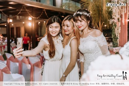 Malaysia Kuala Lumpur Wedding Decoration Kiong Art Wedding Deco Eternal Registration of Marriage Ceremony Open-air Party of Jack and Fish ROM at Kluang Container Hotel A14-A01-213