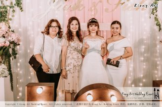 Malaysia Kuala Lumpur Wedding Decoration Kiong Art Wedding Deco Eternal Registration of Marriage Ceremony Open-air Party of Jack and Fish ROM at Kluang Container Hotel A14-A01-214
