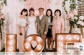 Malaysia Kuala Lumpur Wedding Decoration Kiong Art Wedding Deco Eternal Registration of Marriage Ceremony Open-air Party of Jack and Fish ROM at Kluang Container Hotel A14-A01-215