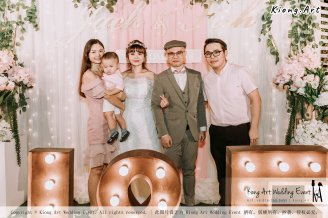 Malaysia Kuala Lumpur Wedding Decoration Kiong Art Wedding Deco Eternal Registration of Marriage Ceremony Open-air Party of Jack and Fish ROM at Kluang Container Hotel A14-A01-216