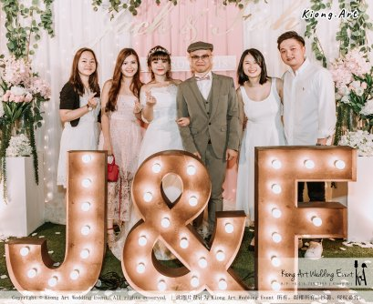Malaysia Kuala Lumpur Wedding Decoration Kiong Art Wedding Deco Eternal Registration of Marriage Ceremony Open-air Party of Jack and Fish ROM at Kluang Container Hotel A14-A01-218
