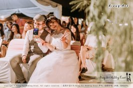 Malaysia Kuala Lumpur Wedding Decoration Kiong Art Wedding Deco Eternal Registration of Marriage Ceremony Open-air Party of Jack and Fish ROM at Kluang Container Hotel A14-A01-252