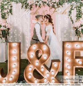 Malaysia Kuala Lumpur Wedding Decoration Kiong Art Wedding Deco Eternal Registration of Marriage Ceremony Open-air Party of Jack and Fish ROM at Kluang Container Hotel A14-A01-267