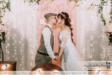 Malaysia Kuala Lumpur Wedding Decoration Kiong Art Wedding Deco Eternal Registration of Marriage Ceremony Open-air Party of Jack and Fish ROM at Kluang Container Hotel A14-A01-268