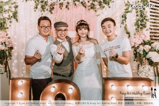 Malaysia Kuala Lumpur Wedding Decoration Kiong Art Wedding Deco Eternal Registration of Marriage Ceremony Open-air Party of Jack and Fish ROM at Kluang Container Hotel A14-A01-270