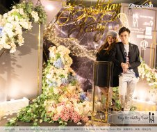 Online Star Birthday Party Ah Jie 文王爷 网红 at Our Place Cafe Puchong Malaysia Kuala Lumpur Wedding Decoration Kiong Art Wedding Deco One-stop Wedding Planning Selangor A13-A01-04