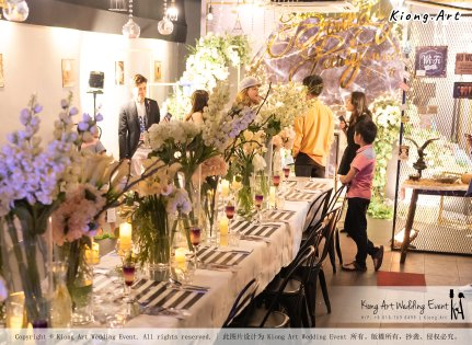 Online Star Birthday Party Ah Jie 文王爷 网红 at Our Place Cafe Puchong Malaysia Kuala Lumpur Wedding Decoration Kiong Art Wedding Deco One-stop Wedding Planning Selangor A13-A01-26