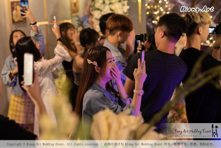 Online Star Birthday Party Ah Jie 文王爷 网红 at Our Place Cafe Puchong Malaysia Kuala Lumpur Wedding Decoration Kiong Art Wedding Deco One-stop Wedding Planning Selangor A13-A01-31