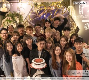 Online Star Birthday Party Ah Jie 文王爷 网红 at Our Place Cafe Puchong Malaysia Kuala Lumpur Wedding Decoration Kiong Art Wedding Deco One-stop Wedding Planning Selangor A13-A01-33