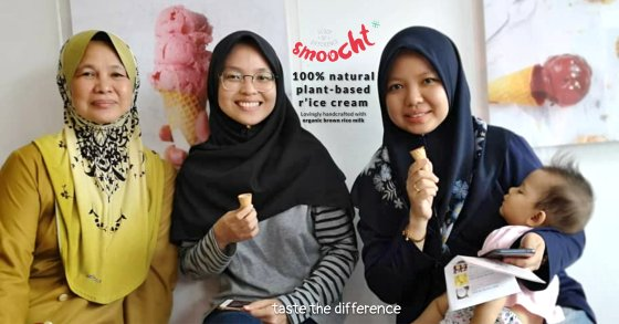 Smoocth Malaysia Vegan Ice Cream Malaysia at Batu Pahat Johor Malaysia Dessert Wholesale Ice Cream and Retail Ice Cream Plant-Based Products Taste The Different of Rice Cream B00-001