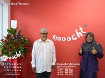 Smoocth Malaysia Vegan Ice Cream Malaysia at Batu Pahat Johor Malaysia Dessert Wholesale Ice Cream and Retail Ice Cream Plant-Based Products Taste The Different of Rice Cream B01-006