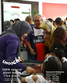 Smoocth Malaysia Vegan Ice Cream Malaysia at Batu Pahat Johor Malaysia Dessert Wholesale Ice Cream and Retail Ice Cream Plant-Based Products Taste The Different of Rice Cream B01-022