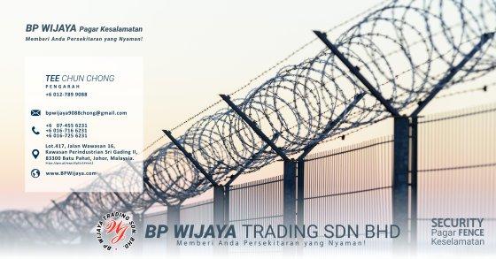 BP Wijaya Trading Sdn Bhd Pagar Malaysia Selangor Kuala Lumpur Pengeluar Pagar Keselamatan Pagar Taman Pagar Bangunan Pagar Kilang Pagar Rumah Bandar Pemborong Pagar Keselamatan A00-01