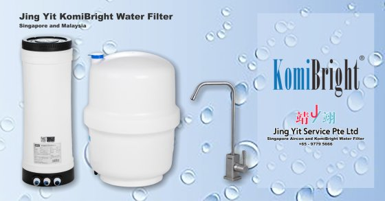 Jing Yit KomiBright Water Filter Singapore Reverse Osmosis Water Purifier Singapore Water Filter Malaysia Komi Bright Water Filter Package A00-01