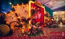 Kuala Lumpur Wedding Deco Decoration Kiong Art Wedding Deco Old Shanghai Style Wedding 旧上海风情婚礼 Steven and Tze Hui at Golden Dragonboat Restaurant 金龙船鱼翅海鲜酒家 Malaysia A16-A01-003