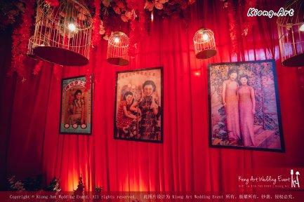 Kuala Lumpur Wedding Deco Decoration Kiong Art Wedding Deco Old Shanghai Style Wedding 旧上海风情婚礼 Steven and Tze Hui at Golden Dragonboat Restaurant 金龙船鱼翅海鲜酒家 Malaysia A16-A01-005