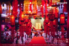 Kuala Lumpur Wedding Deco Decoration Kiong Art Wedding Deco Old Shanghai Style Wedding 旧上海风情婚礼 Steven and Tze Hui at Golden Dragonboat Restaurant 金龙船鱼翅海鲜酒家 Malaysia A16-A01-007