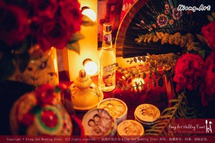 Kuala Lumpur Wedding Deco Decoration Kiong Art Wedding Deco Old Shanghai Style Wedding 旧上海风情婚礼 Steven and Tze Hui at Golden Dragonboat Restaurant 金龙船鱼翅海鲜酒家 Malaysia A16-A01-016