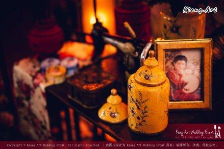 Kuala Lumpur Wedding Deco Decoration Kiong Art Wedding Deco Old Shanghai Style Wedding 旧上海风情婚礼 Steven and Tze Hui at Golden Dragonboat Restaurant 金龙船鱼翅海鲜酒家 Malaysia A16-A01-017