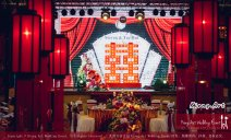 Kuala Lumpur Wedding Deco Decoration Kiong Art Wedding Deco Old Shanghai Style Wedding 旧上海风情婚礼 Steven and Tze Hui at Golden Dragonboat Restaurant 金龙船鱼翅海鲜酒家 Malaysia A16-A01-024