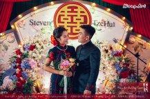 Kuala Lumpur Wedding Deco Decoration Kiong Art Wedding Deco Old Shanghai Style Wedding 旧上海风情婚礼 Steven and Tze Hui at Golden Dragonboat Restaurant 金龙船鱼翅海鲜酒家 Malaysia A16-A01-026
