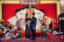 Kuala Lumpur Wedding Deco Decoration Kiong Art Wedding Deco Old Shanghai Style Wedding 旧上海风情婚礼 Steven and Tze Hui at Golden Dragonboat Restaurant 金龙船鱼翅海鲜酒家 Malaysia A16-A01-027