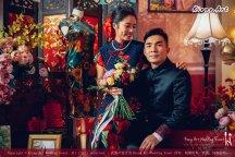 Kuala Lumpur Wedding Deco Decoration Kiong Art Wedding Deco Old Shanghai Style Wedding 旧上海风情婚礼 Steven and Tze Hui at Golden Dragonboat Restaurant 金龙船鱼翅海鲜酒家 Malaysia A16-A01-028