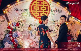 Kuala Lumpur Wedding Deco Decoration Kiong Art Wedding Deco Old Shanghai Style Wedding 旧上海风情婚礼 Steven and Tze Hui at Golden Dragonboat Restaurant 金龙船鱼翅海鲜酒家 Malaysia A16-A01-034