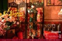 Kuala Lumpur Wedding Deco Decoration Kiong Art Wedding Deco Old Shanghai Style Wedding 旧上海风情婚礼 Steven and Tze Hui at Golden Dragonboat Restaurant 金龙船鱼翅海鲜酒家 Malaysia A16-A02-027