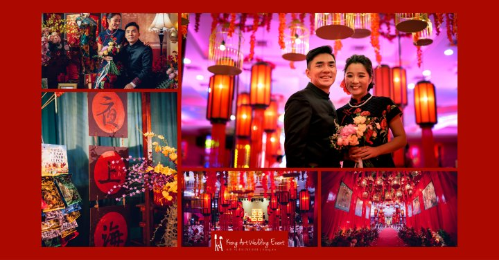 Kuala Lumpur Wedding Deco Decoration Kiong Art Wedding Deco Old Shanghai Style Wedding 旧上海风情婚礼 Steven and Tze Hui at Golden Dragonboat Restaurant 金龙船鱼翅海鲜酒家 Malaysia A16-A00-000