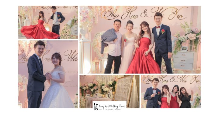 Malaysia Wed Kuala Lumpur Wedding Deco Decoration Kiong Art Wedding Deco Warm and Happy Wedding Theme Chia Hao and Wei Xin Sin Yang Restaurant Batu Pahat A15-A00-001