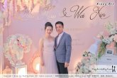 Malaysia Wed Kuala Lumpur Wedding Deco Decoration Kiong Art Wedding Deco Warm and Happy Wedding Theme Chia Hao and Wei Xin Sin Yang Restaurant Batu Pahat A15-A01-009