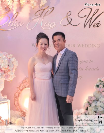 Malaysia Wed Kuala Lumpur Wedding Deco Decoration Kiong Art Wedding Deco Warm and Happy Wedding Theme Chia Hao and Wei Xin Sin Yang Restaurant Batu Pahat A15-A01-010