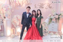 Malaysia Wed Kuala Lumpur Wedding Deco Decoration Kiong Art Wedding Deco Warm and Happy Wedding Theme Chia Hao and Wei Xin Sin Yang Restaurant Batu Pahat A15-A01-041