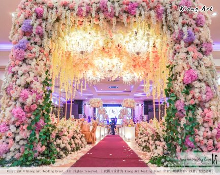 Kuala Lumpur Wedding Event Deco Wedding Planner Kiong Art Wedding Event 吉隆坡一站式婚礼策划布置 A01-006