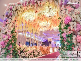 Kuala Lumpur Wedding Event Deco Wedding Planner Kiong Art Wedding Event 吉隆坡一站式婚礼策划布置 A01-009