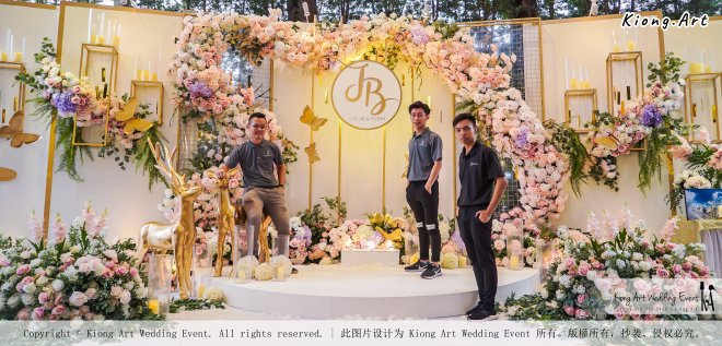 Kuala Lumpur Wedding Event Deco Wedding Planner Kiong Art Wedding Event 吉隆坡一站式婚礼策划布置 A01-011