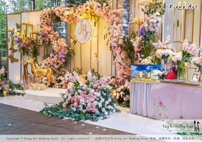 Kuala Lumpur Wedding Event Deco Wedding Planner Kiong Art Wedding Event 吉隆坡一站式婚礼策划布置 B01-003