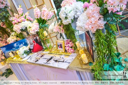 Kuala Lumpur Wedding Event Deco Wedding Planner Kiong Art Wedding Event 吉隆坡一站式婚礼策划布置 B01-004