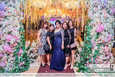 Kuala Lumpur Wedding Event Deco Wedding Planner Kiong Art Wedding Event 吉隆坡一站式婚礼策划布置 B01-011
