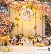 Kuala Lumpur Wedding Event Deco Wedding Planner Kiong Art Wedding Event 吉隆坡一站式婚礼策划布置 B01-016